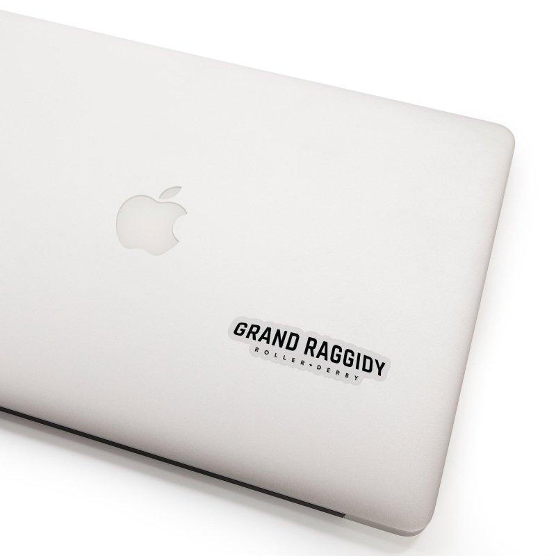Wordmark Accessories Sticker by Grand Raggidy Roller Derby