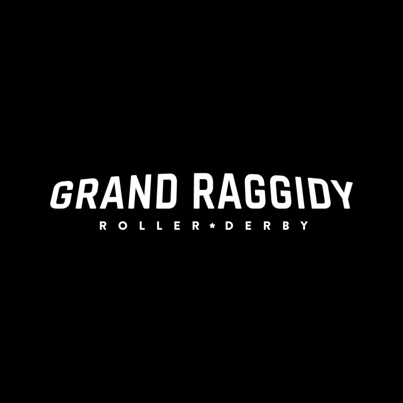 Wordmark - Reverse Women's Pullover Hoody by Grand Raggidy Roller Derby
