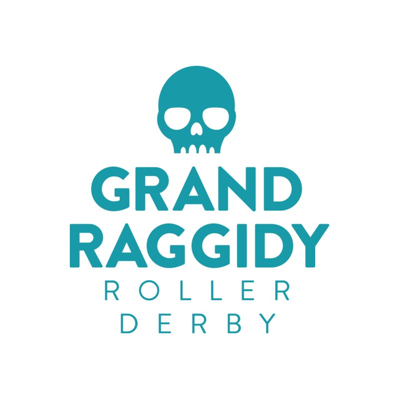 Stacked Logo Women's Zip-Up Hoody by Grand Raggidy Roller Derby