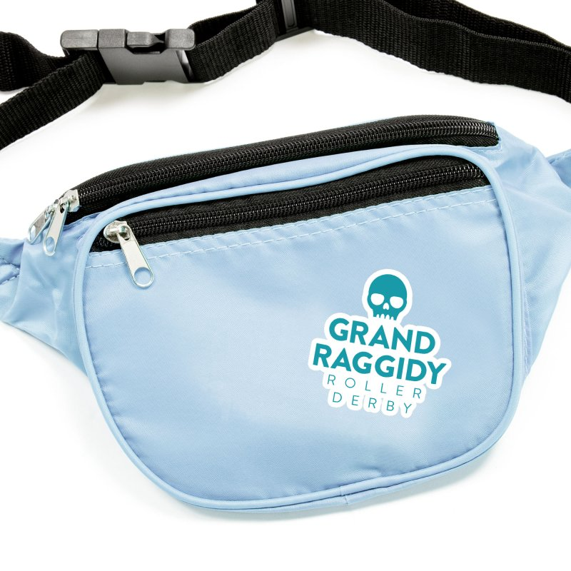 Stacked Logo Accessories Sticker by Grand Raggidy Roller Derby