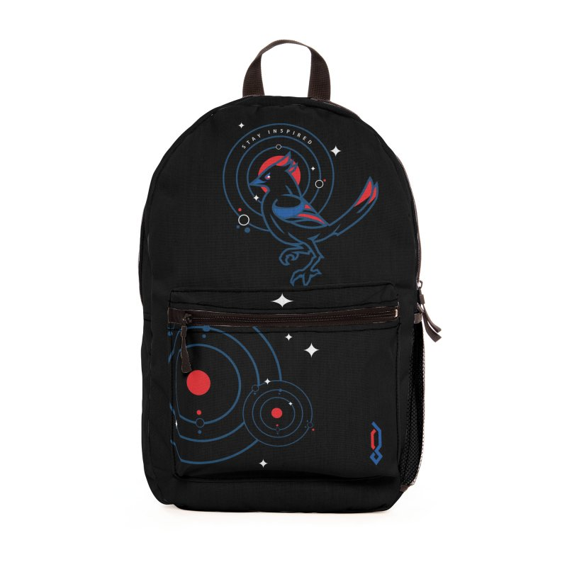 Stay Inspired Accessories Bag by Graphicblack