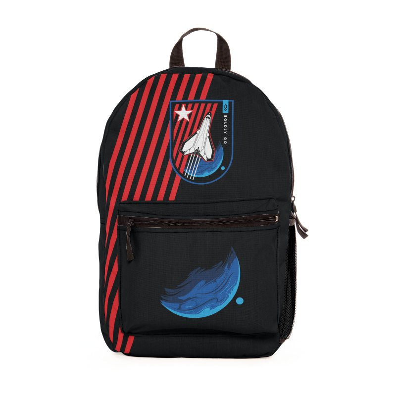 Boldly Go Accessories Bag by Graphicblack