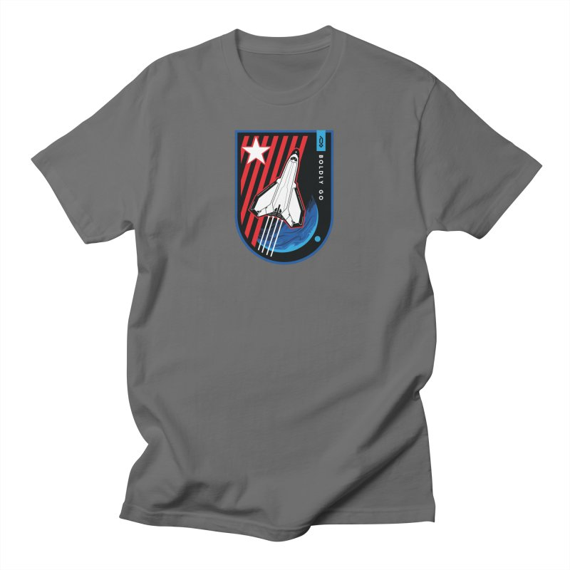 Boldly Go Men's T-Shirt by Graphicblack