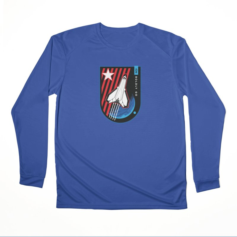 Boldly Go Women's Longsleeve T-Shirt by Graphicblack