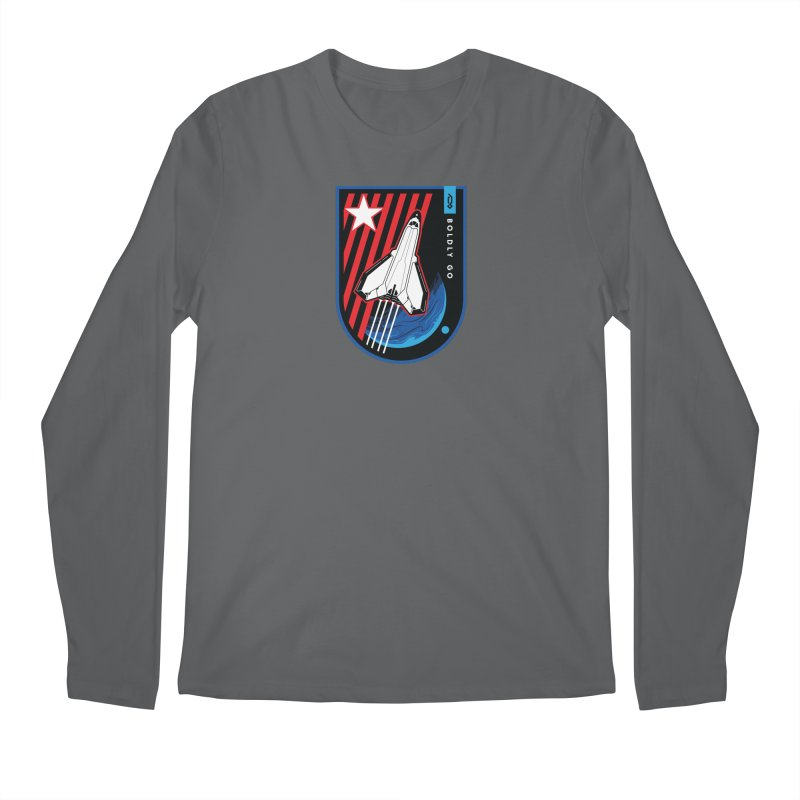 Boldly Go Men's Longsleeve T-Shirt by Graphicblack