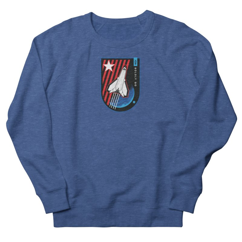 Boldly Go Men's Sweatshirt by Graphicblack