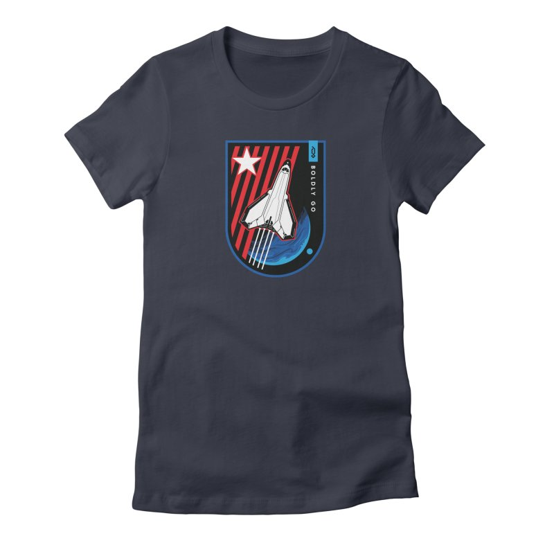 Boldly Go Women's T-Shirt by Graphicblack