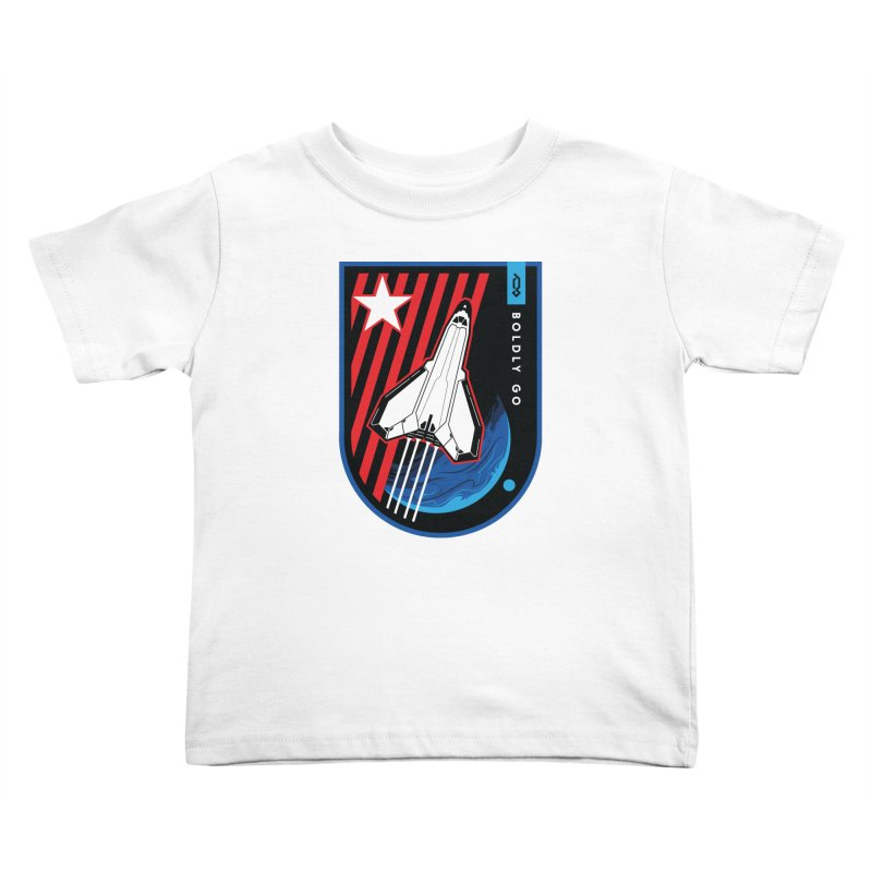 Boldly Go Kids Toddler T-Shirt by Graphicblack