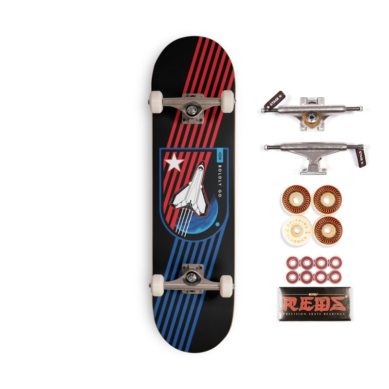 Boldly Go Accessories Skateboard by Graphicblack