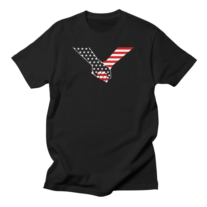 Liberty & Justice Men's T-Shirt by Graphicblack