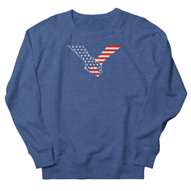 Liberty & Justice Men's Sweatshirt by Graphicblack