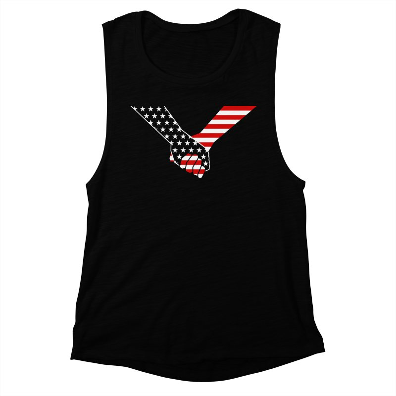 Liberty & Justice Women's Tank by Graphicblack