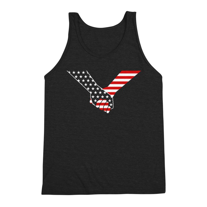 Liberty & Justice Men's Tank by Graphicblack