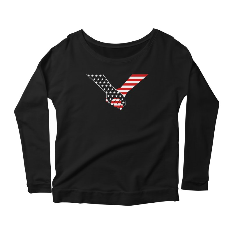 Liberty & Justice Women's Longsleeve T-Shirt by Graphicblack