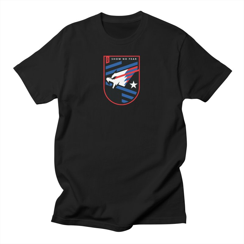 Show No Fear Men's T-Shirt by Graphicblack