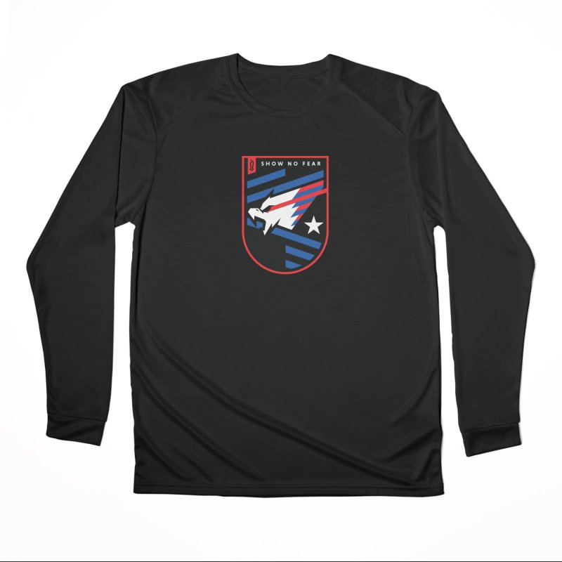 Show No Fear Men's Longsleeve T-Shirt by Graphicblack
