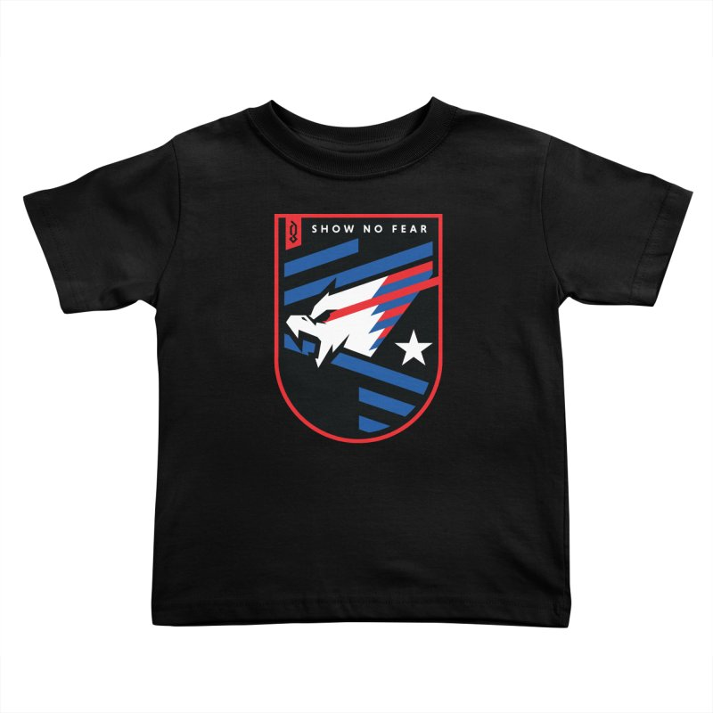 Show No Fear Kids Toddler T-Shirt by Graphicblack
