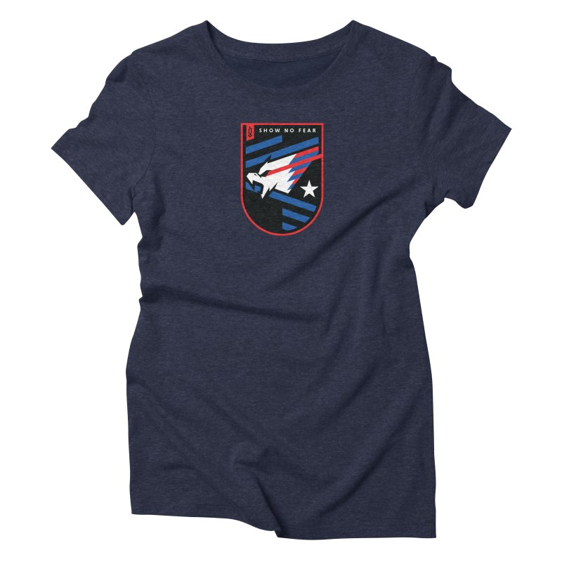 Show No Fear Women's T-Shirt by Graphicblack