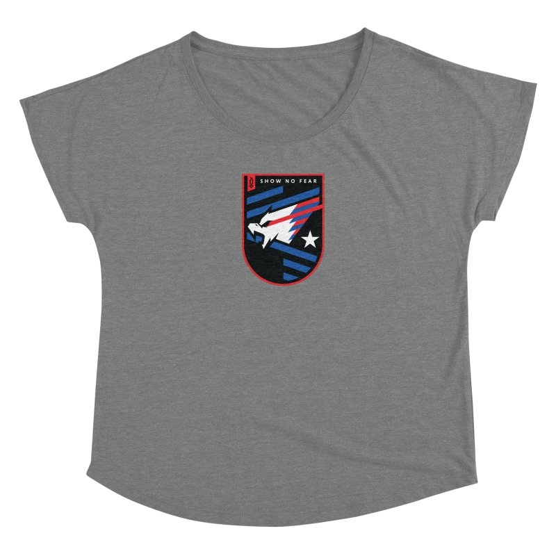 Show No Fear Women's Scoop Neck by Graphicblack