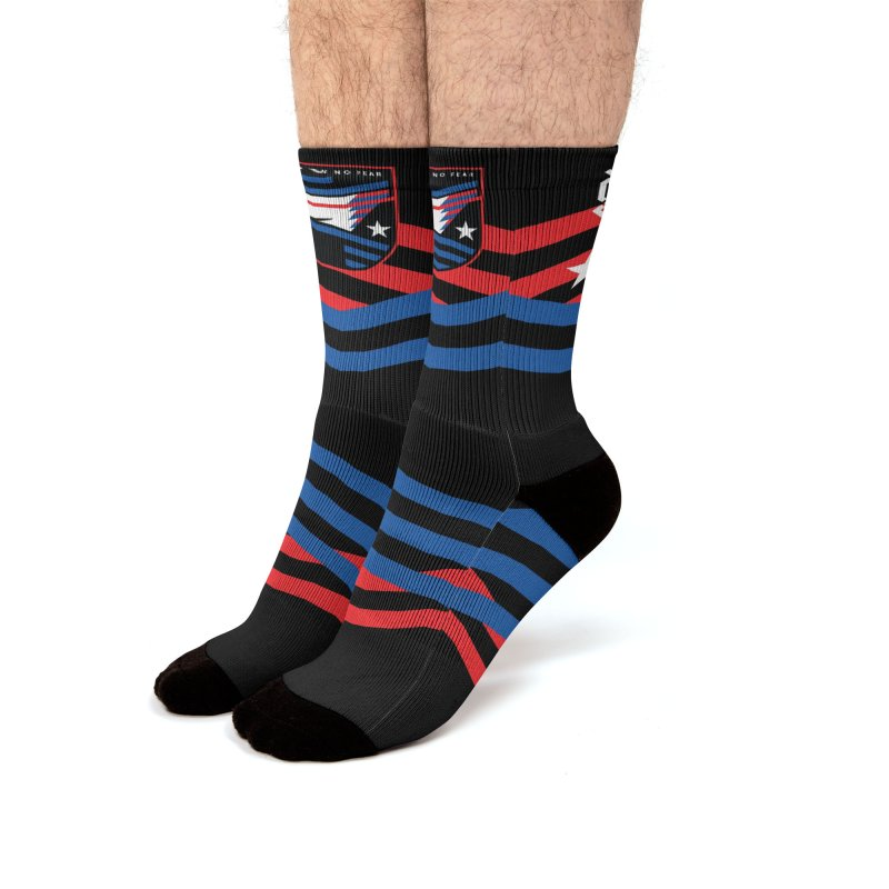 Show No Fear Men's Socks by Graphicblack