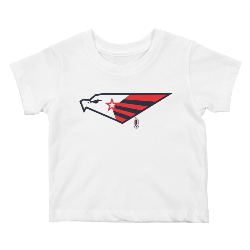 Eagle Kids Baby T-Shirt by Graphicblack