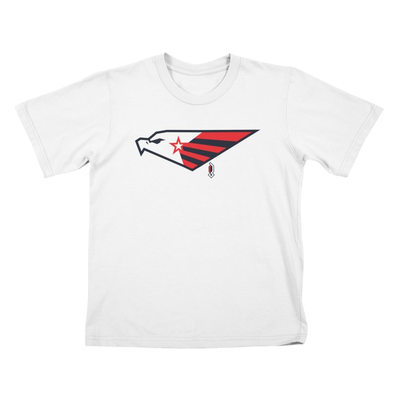 Eagle Kids T-Shirt by Graphicblack