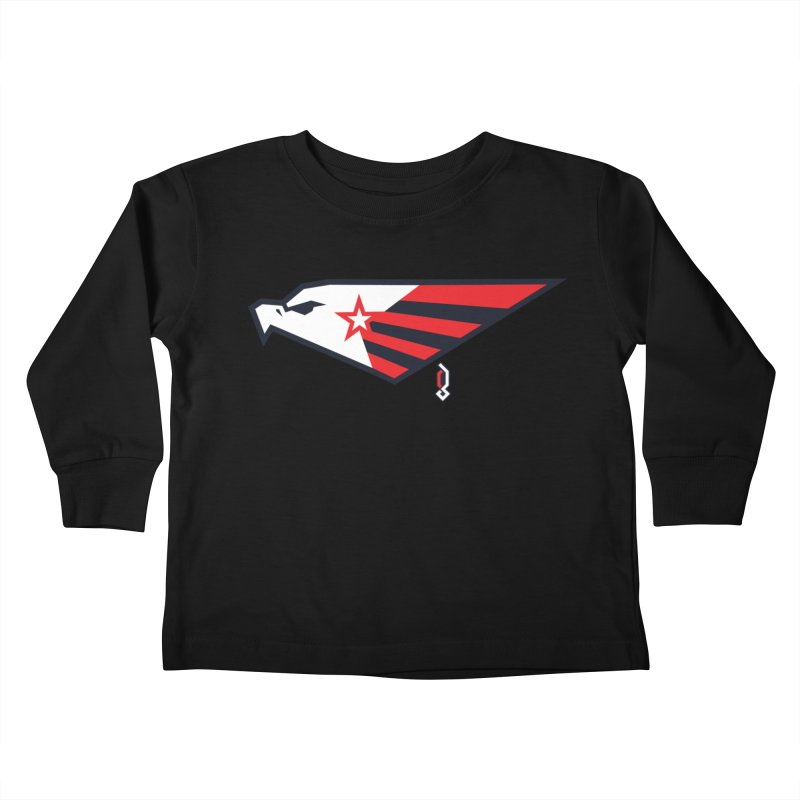 Eagle Kids Toddler Longsleeve T-Shirt by Graphicblack