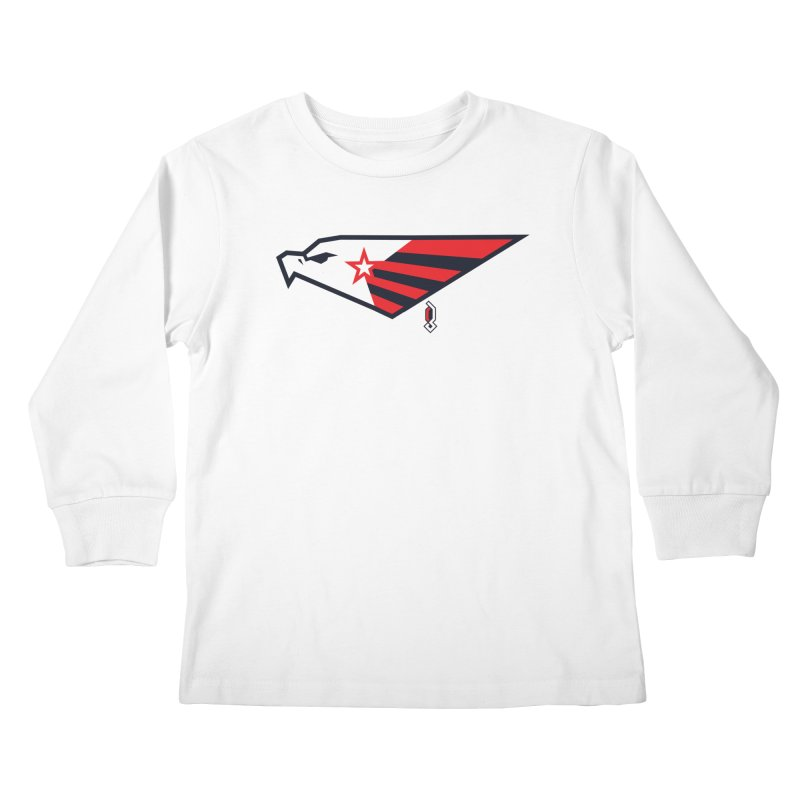 Eagle Kids Longsleeve T-Shirt by Graphicblack