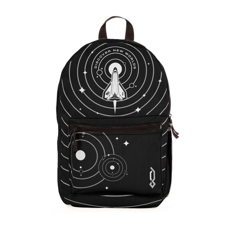 Discover New Worlds Accessories Bag by Graphicblack