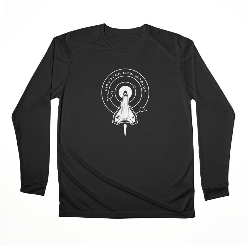 Discover New Worlds Women's Longsleeve T-Shirt by Graphicblack