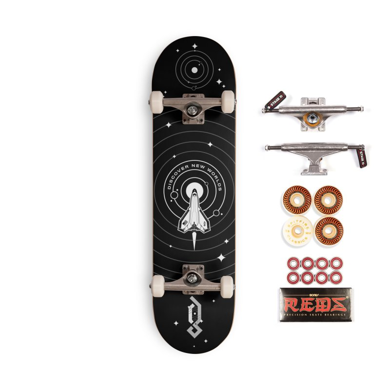 Discover New Worlds Accessories Skateboard by Graphicblack