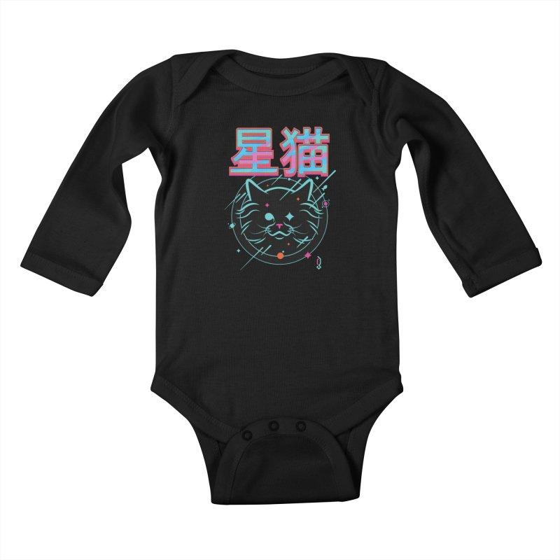 STARCAT I Kids Baby Longsleeve Bodysuit by Graphicblack