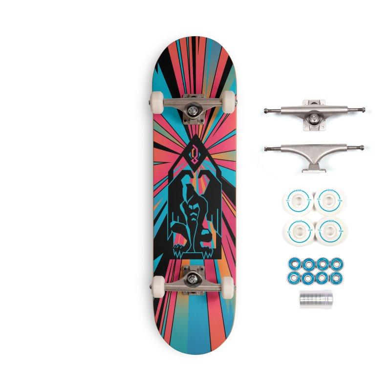 PSYCHOGARGOYLE Accessories Skateboard by Graphicblack