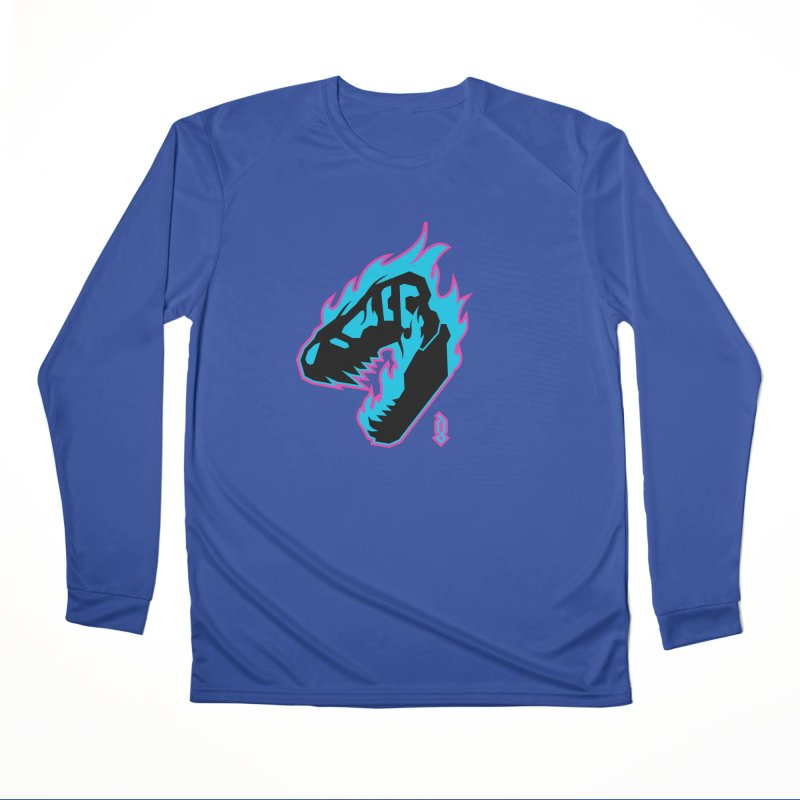 Psychosaurus Women's Longsleeve T-Shirt by Graphicblack