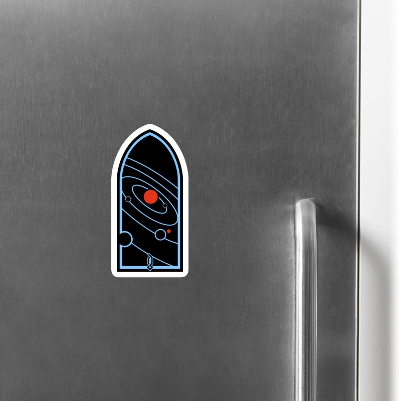 Heliocentric Accessories Magnet by Graphicblack