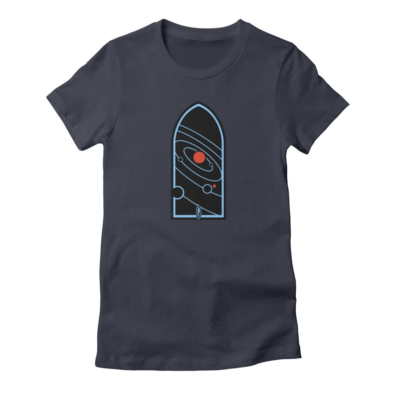 Heliocentric Women's T-Shirt by Graphicblack