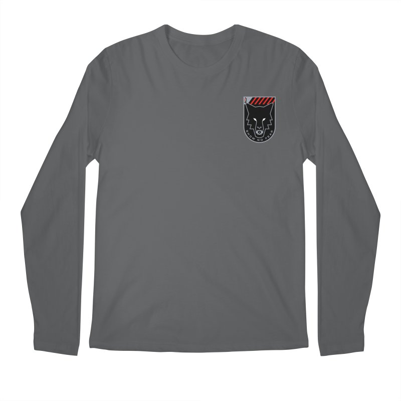 Show No Fear - Wolf Men's Longsleeve T-Shirt by Graphicblack