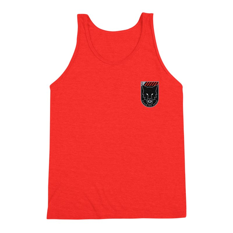 Show No Fear - Wolf Men's Tank by Graphicblack