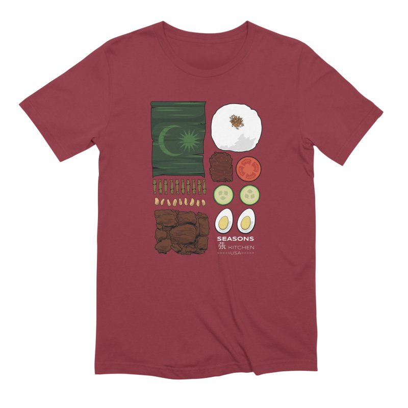 Nasi Lemak Men's T-Shirt by Graphicblack