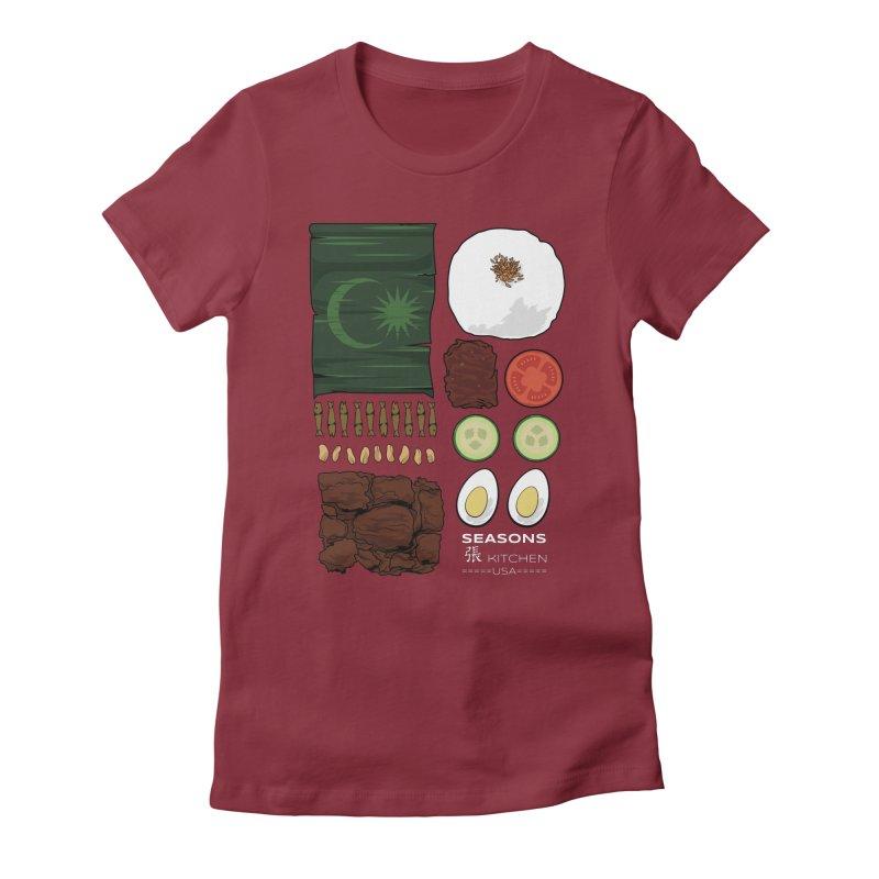 Nasi Lemak Women's T-Shirt by Graphicblack