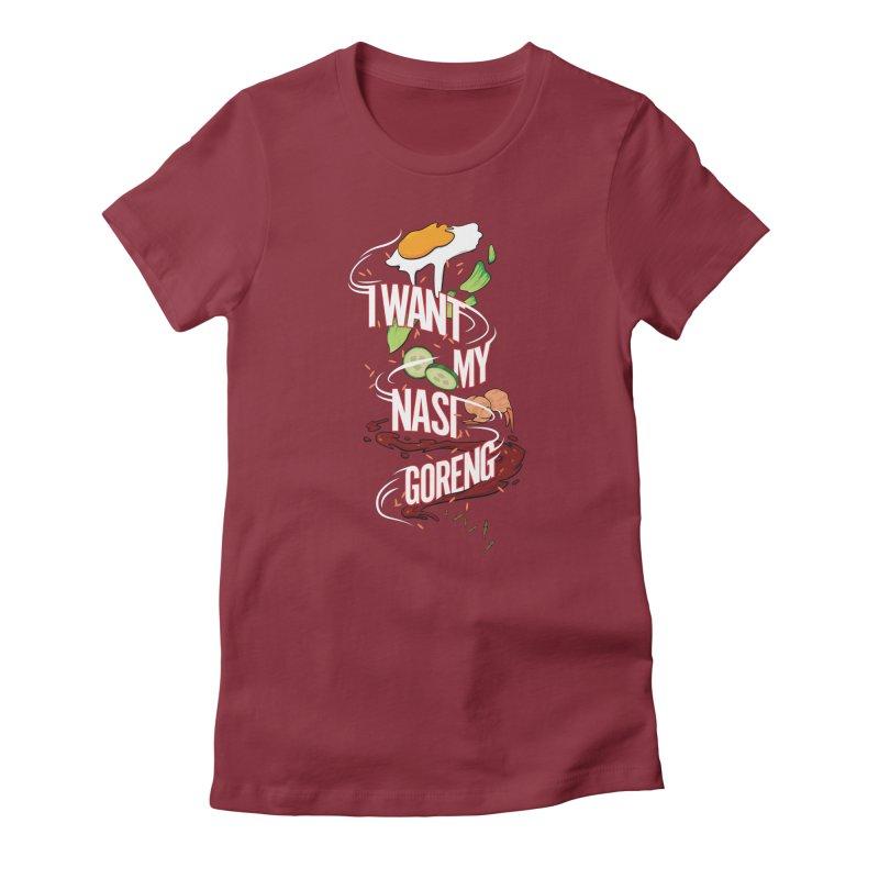 Nasi Goreng Women's T-Shirt by Graphicblack