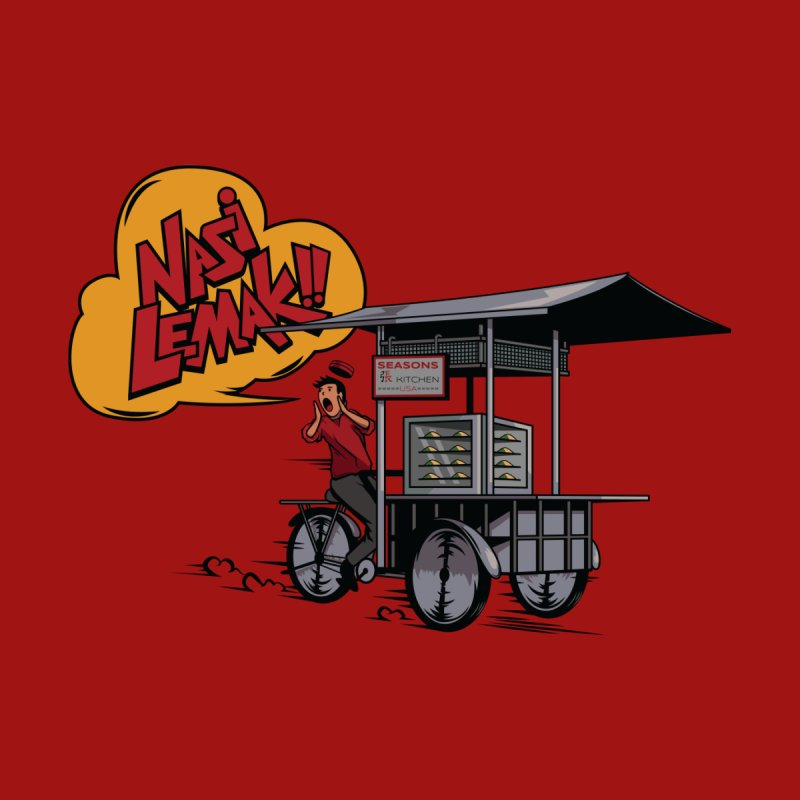 Street Cart I Men's T-Shirt by Graphicblack