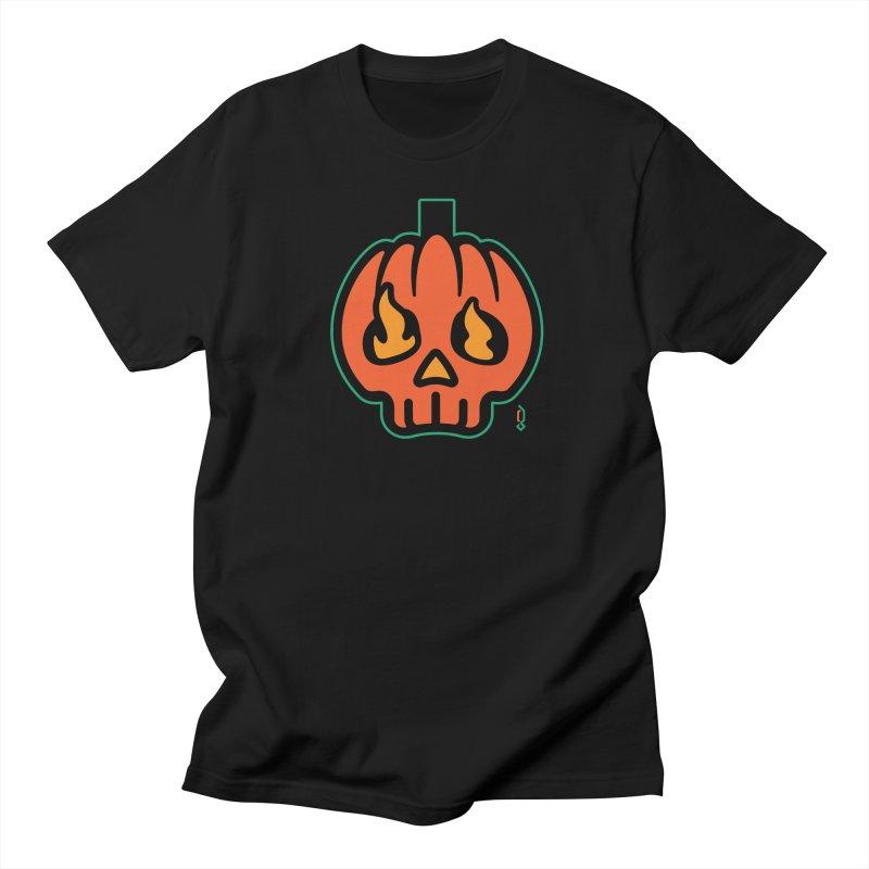 Jack-O-Lantern Men's T-Shirt by Graphicblack