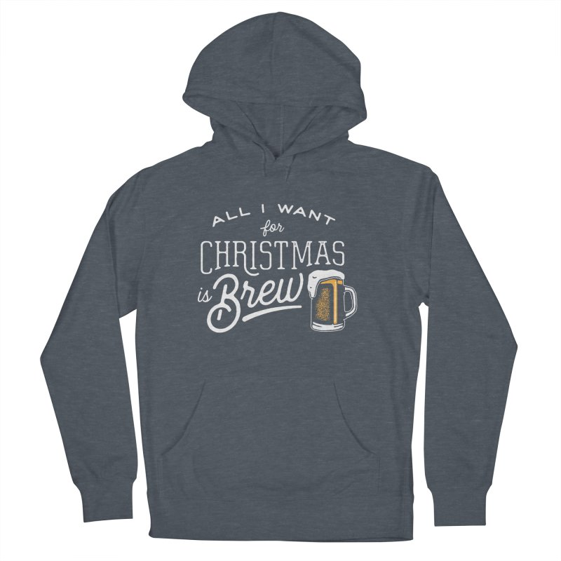 Christmas Brew Men's Pullover Hoody by The Artist Shop of graphicdesign79