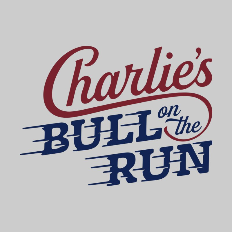Charlie's Bull on the Run by The Artist Shop of graphicdesign79