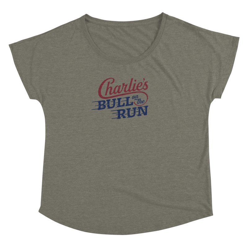 Charlie's Bull on the Run Women's Dolman by The Artist Shop of graphicdesign79