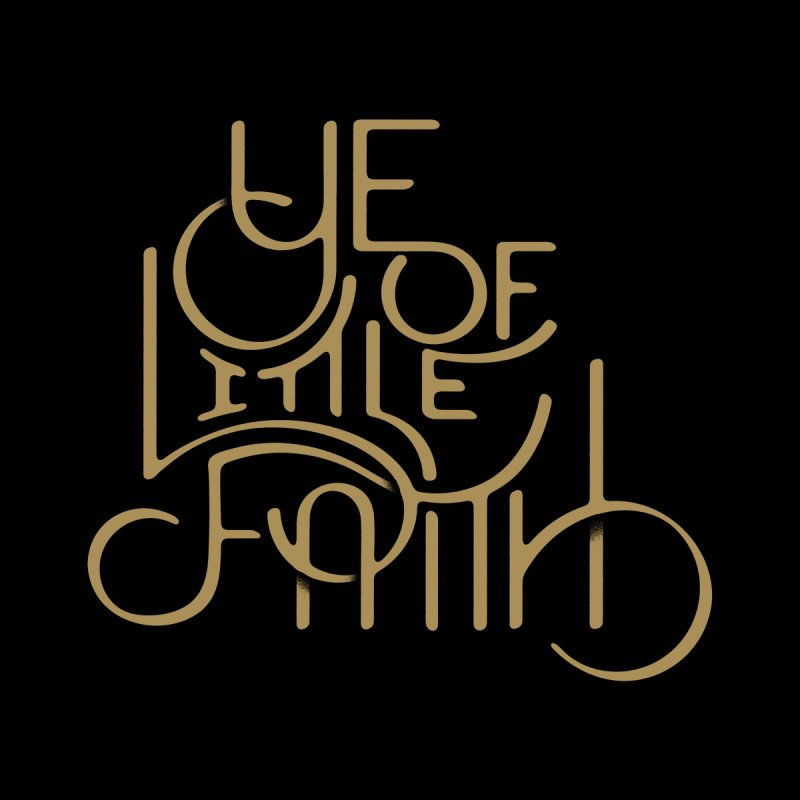Little Faith None  by The Artist Shop of graphicdesign79