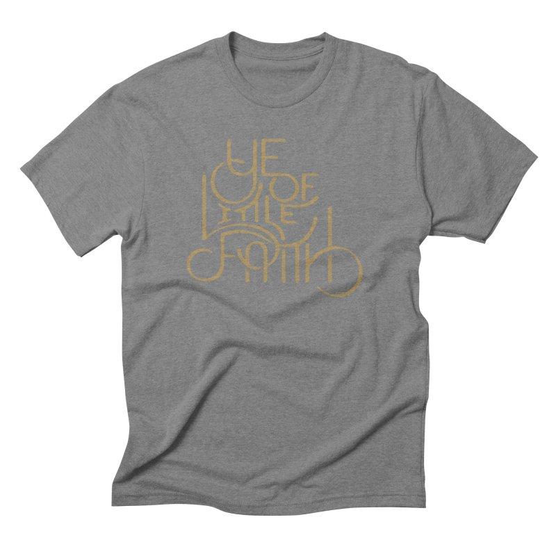 Little Faith Men's Triblend T-Shirt by The Artist Shop of graphicdesign79