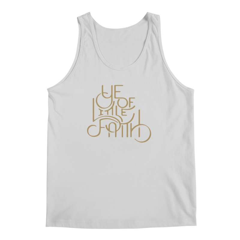 Little Faith Men's Tank by The Artist Shop of graphicdesign79