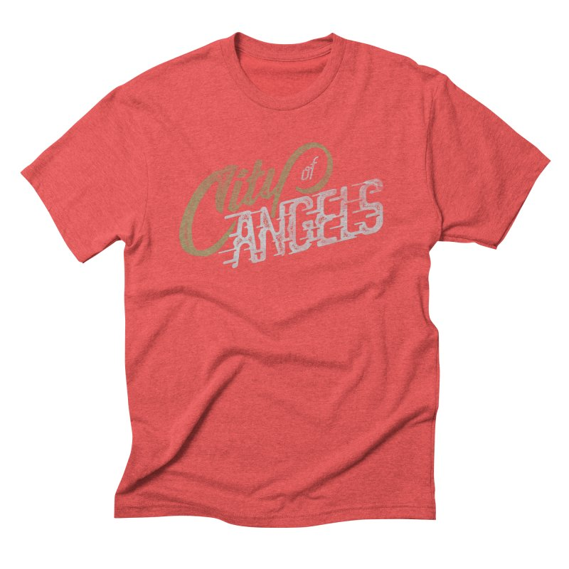 City of Angels Men's Triblend T-shirt by The Artist Shop of graphicdesign79